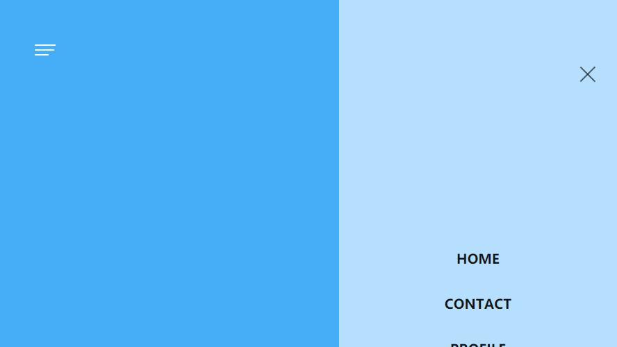 js+css3左侧滑动汉堡式网站菜单 手机电脑都可使用