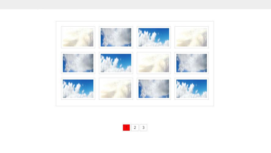 JS制作动感多按钮切换相册图片特效代码