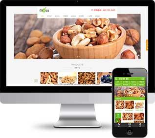水果订购织梦模板,蔬菜农产品网站源码