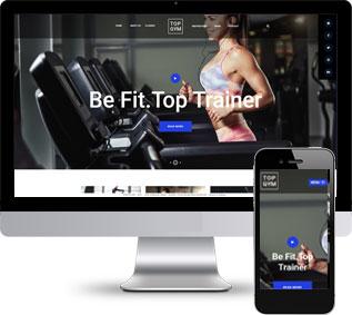 健身网站模板,瑜伽html模板