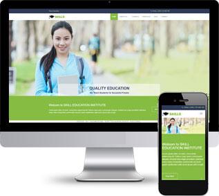 培训学校html模板,教育机构html模板
