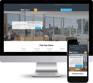 房产中介HTML模板,二手房网站模板,楼盘网站模板