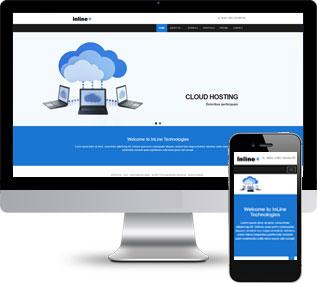 服务器html模板,虚拟主机网站模板