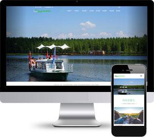 农家乐网站模板,特色农庄html模板
