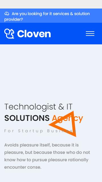 IT网络网站模板,安全技术html模板