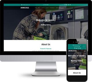 洗衣机单页面模板,烘干机单页面模板