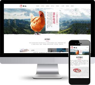 家禽饲养网站源码,牲畜养殖网站源码,商用网站源码
