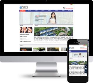 电子科技网站源码,数据产品网站源码,公司网站源码