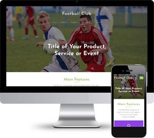 足球网站模板,俱乐部网站模板,竞技网站模板